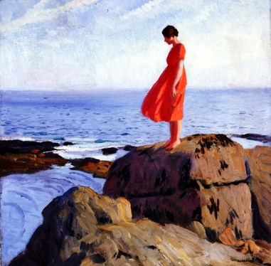 Laura Knight (1877-1970) A Dark Pool 1908-18